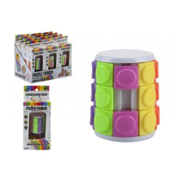 Cylinder Puzzle Tower